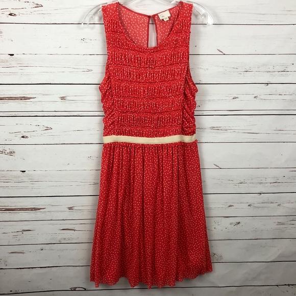 125f930b2b6d Anthropologie Dresses | Postmark Swiss Dot Sleeveless Dress | Poshmark
